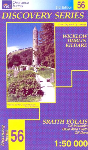 Wicklow, Dublin, Kildare (Irish Discovery Series): Ordnance Survey Ireland