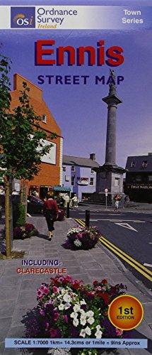 Ennis Street Map (Irish Street Maps): Ordnance Survey Ireland