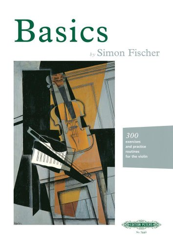 9781901507003: Basics: 300 excercises and practice routines for the violin