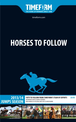 9781901570915: Timeform Horses to Follow Jumps Season 2013/14