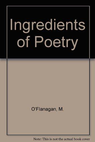 9781901596014: Ingredients of Poetry