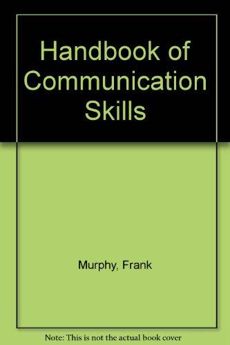 9781901657388: Handbook of Communication Skills