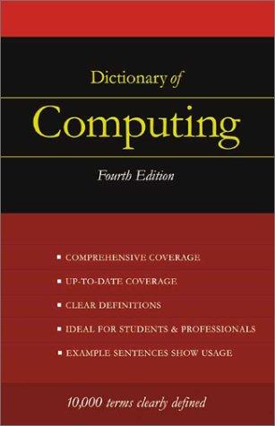 9781901659467: Dictionary of Computing