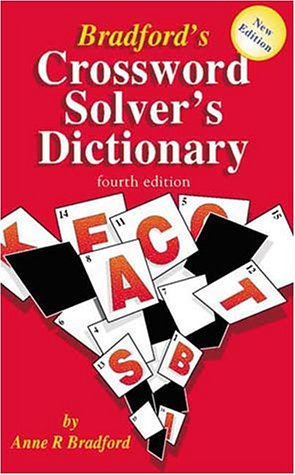 9781901659672: Bradford's Crossword Solver's Dictionary