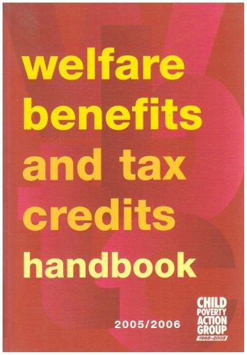 Welfare Benefits and Tax Credits Handbook (9781901698756) by Carolyn George