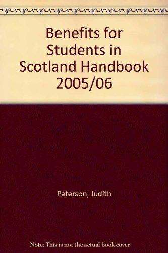 9781901698794: Benefits for Students in Scotland Handbook