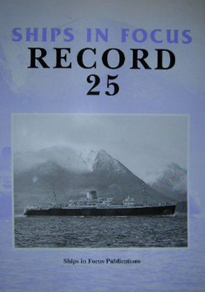 9781901703719: Ships in Focus Record 25