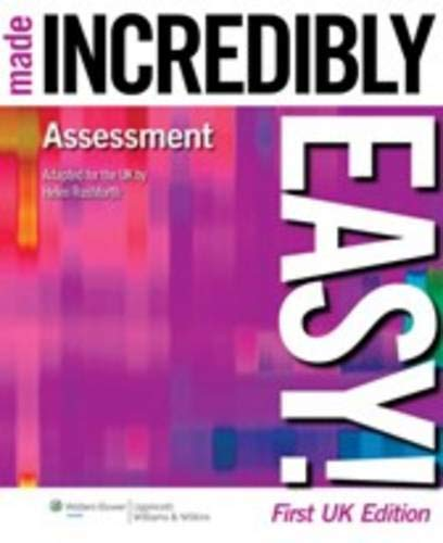 9781901831078: Assessment Made Incredibly Easy! ( Uk Edition ) (Incredibly Easy! Series (R))