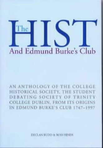 The Hist: And Edmund Burke's Club: Declan Budd~Ross Hinds