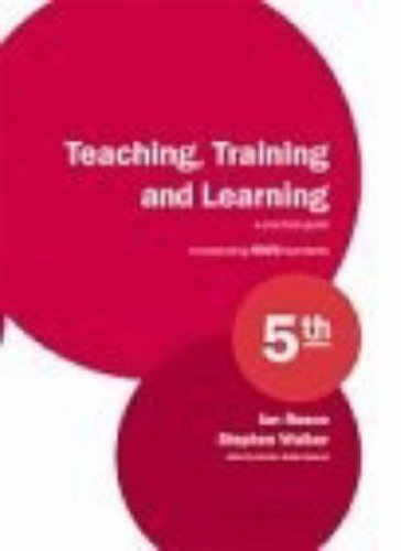 9781901888300: Teaching, Training and Learning: A Practical Guide