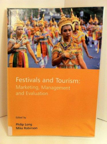 9781901888348: Festivals and Tourism: Marketing, Management and Evaluation