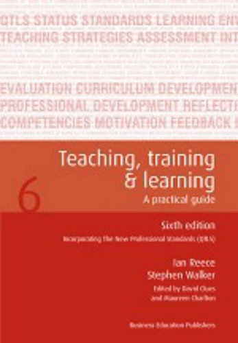 9781901888461: Teaching Training and Learning: A Practical Guide