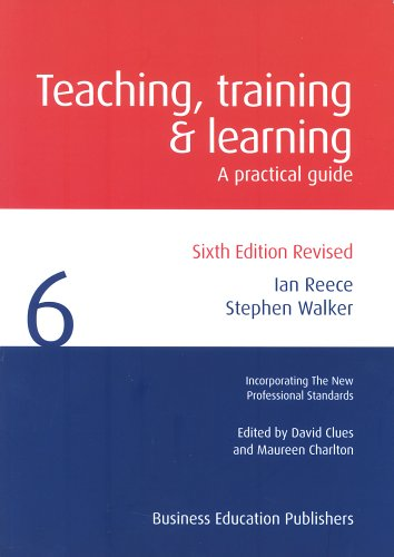 9781901888560: Teaching Training and Learning: A Practical Guide