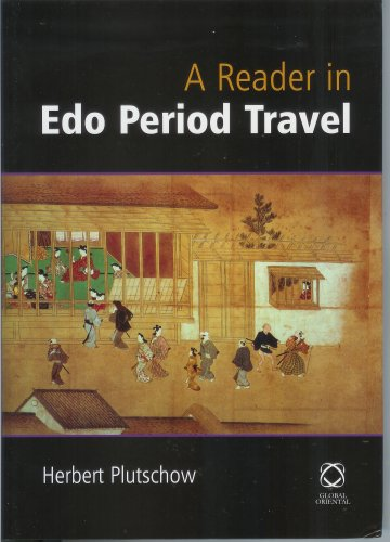 9781901903232: A Reader in Edo Period Travel