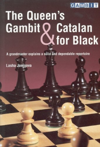 9781901983371: The Queen's Gambit and Catalan for Black: A Grandmaster Explains a Solid and Dependable Repertoire