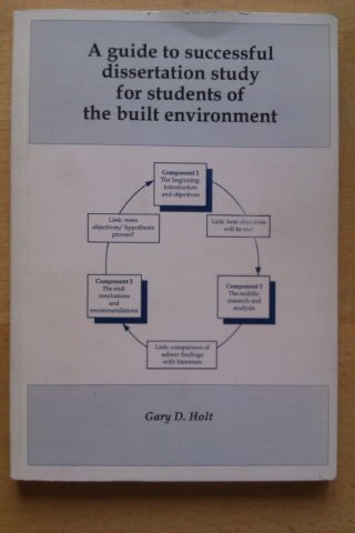 9781902010007: Guide to Successful Dissertation Study for Students of the Built Environment