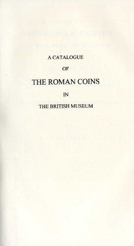 Coins of the Roman Empire in the British Museum: Vespasian to Domitian v. 2: Mattingly, Harold
