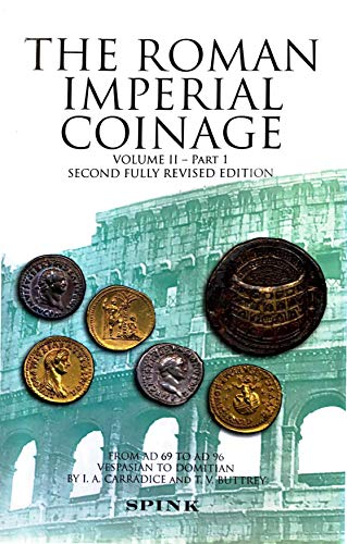 9781902040844: Roman Imperial Coinage: From AD 69 to AD 96. 'The Flavians' v. 2, Pt. 1