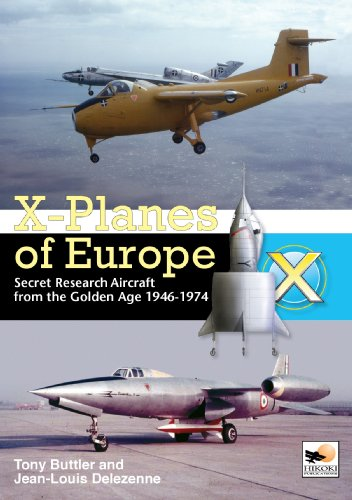 9781902109213: X-planes of Europe: Secret Research Aircraft of the Cold War