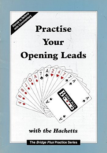 9781902123103: Practice your opening leads (Bridge Plus practice series)