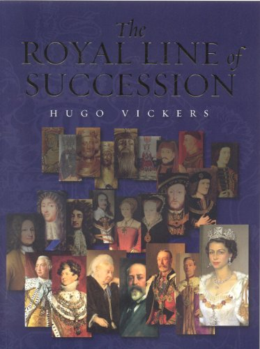 9781902163390: The Royal Line of Succession