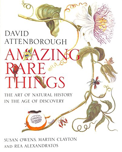 9781902163994: AMAZING RARE THINGS: THE ART OF NATURAL HISTORY IN THE AGE OF DISCOVERY