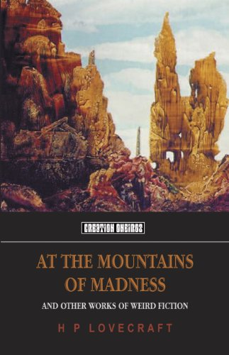 9781902197333: At The Mountains Of Madness (Creation Oneiros)