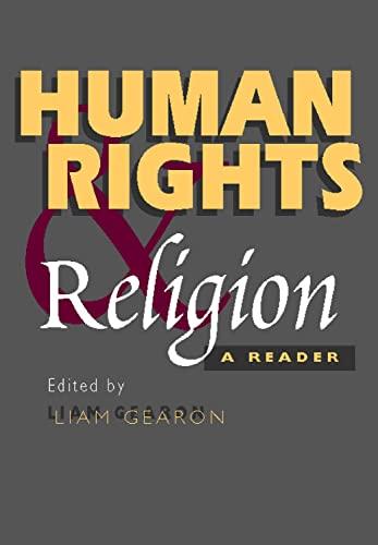 9781902210957: Human Rights & Religion: A Reader