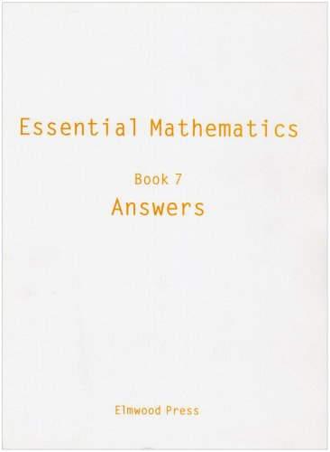 Essential Mathematics: Answers Bk. 7: Rayner, D.
