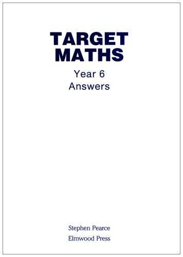 9781902214283: Target Maths Year 6 Answers