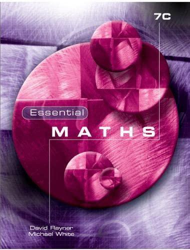 9781902214740: Essential Maths 7c: Level 7C
