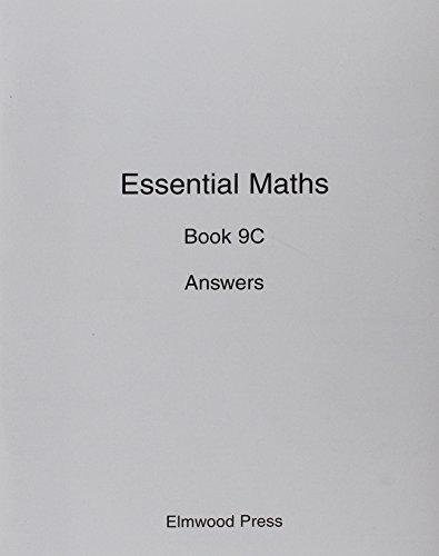 Essential Maths: Answers Bk. 9C: Rayner, David; White, Michael