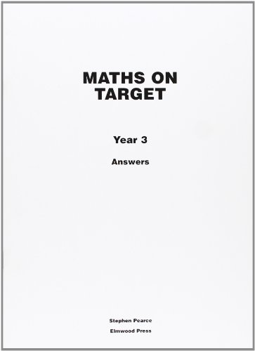 9781902214955: Maths on Target Year 3 Answers: Answers Year 3