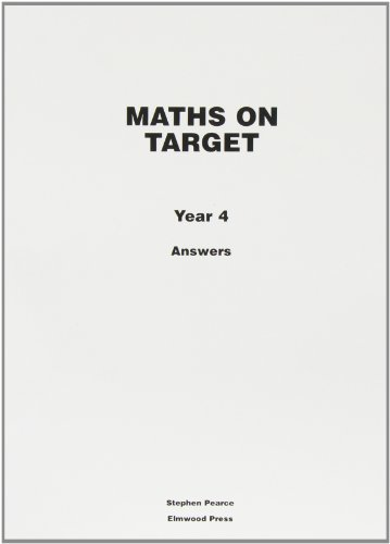 9781902214962: Maths on Target: Answers Year 4
