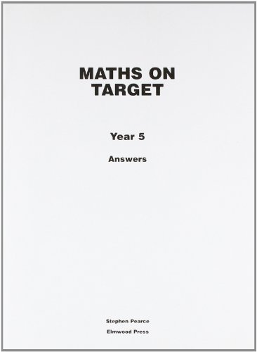 9781902214979: Maths on Target: Answers Year 5