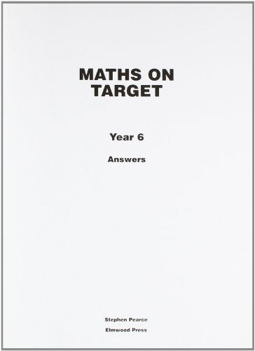 9781902214986: Maths on Target: Answers Year 6