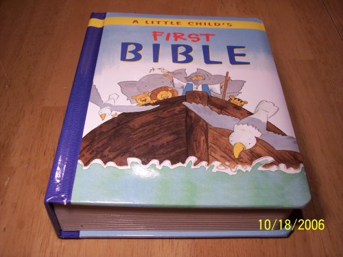 9781902272382: A Little Child's First Bible
