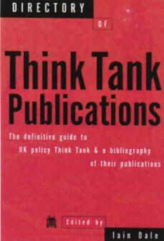 9781902301020: Directory of Think Tank Publications
