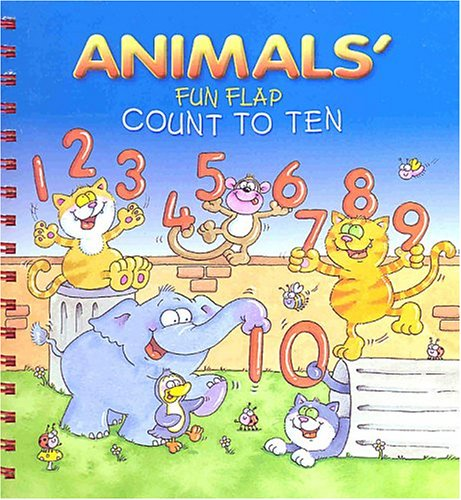 9781902367781: Animals' Fun Flap: Count to Ten