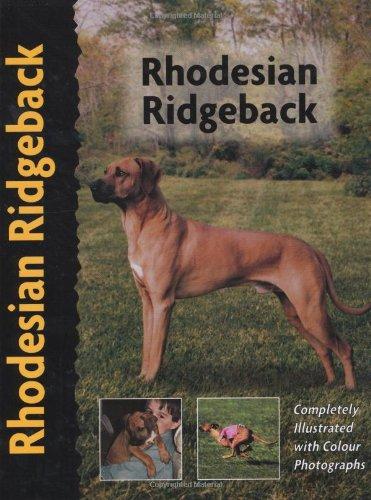 Rhodesian Ridgeback (Pet love): Chamberlain, Ann