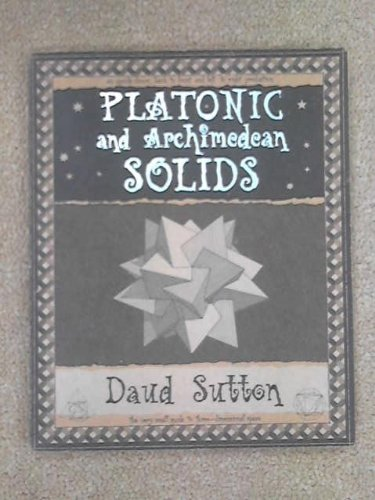9781902418346: Platonic and Archimedean Solids