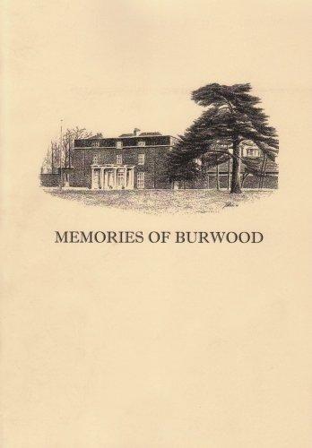 9781902427218: Memories of Burwood (British Deaf History Society)