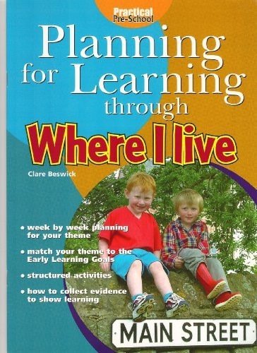 9781902438986: Planning for Learning Through Where I Live