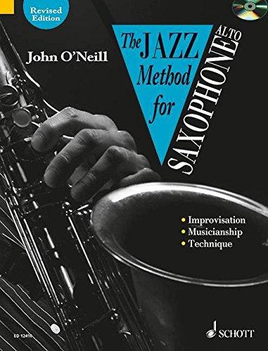 THE JAZZ METHOD FOR ALTO SAXOPHONE BOOK/CD