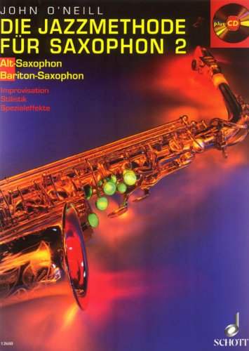 9781902455051: The Jazz Method for Saxophone Band 2 - Alto- / Baritone Saxophone - BOOK+CD