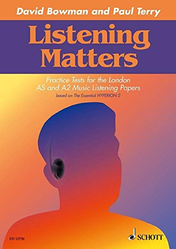 9781902455082: Listening Matters: Practice Tests for the London AS and A2 Music Listening Papers based on