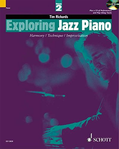 9781902455259: Exploring Jazz Piano - Volume 2: Book/CD (The Schott Pop Styles Series)