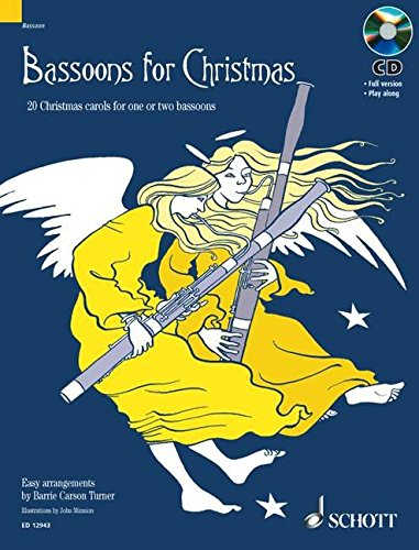 9781902455747: Bassoons for Christmas: 20 Christmas carols for one or two bassoons With a CD of performances and accompaniments (Misc)