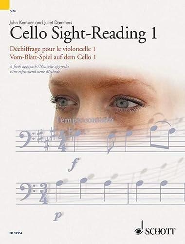 Cello Sight-Reading 1: Kember, John; Dammers,