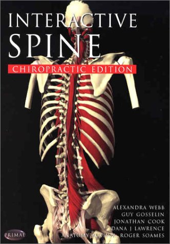 9781902470696: Interactive Spine: Chriopractic Edition